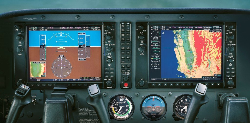 Garmin G1000 glass cockpit.