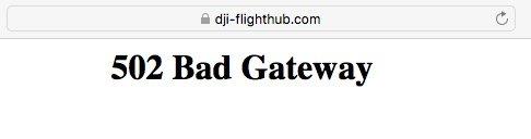 DJI FlightHub growing pains.