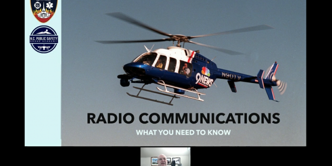 Aviation Radio Communications for UAS Public Safety Pilots