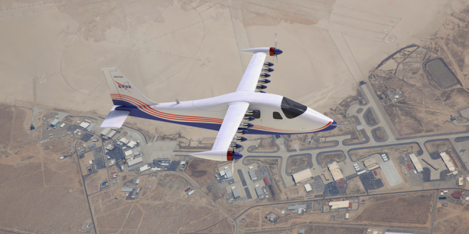 All Electric X-57 Maxwell Airplane Might be in Your Future