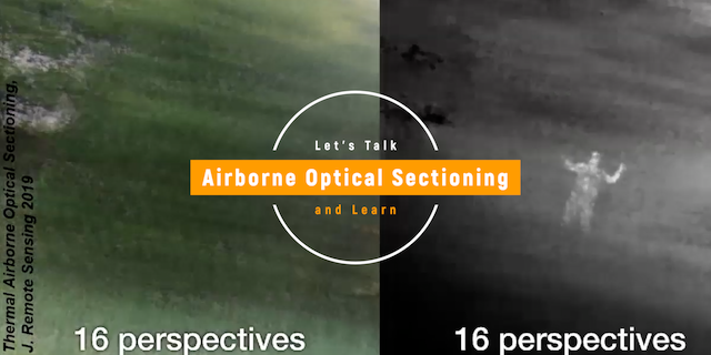 Airborne Optical Sectioning – We Can See Through Trees