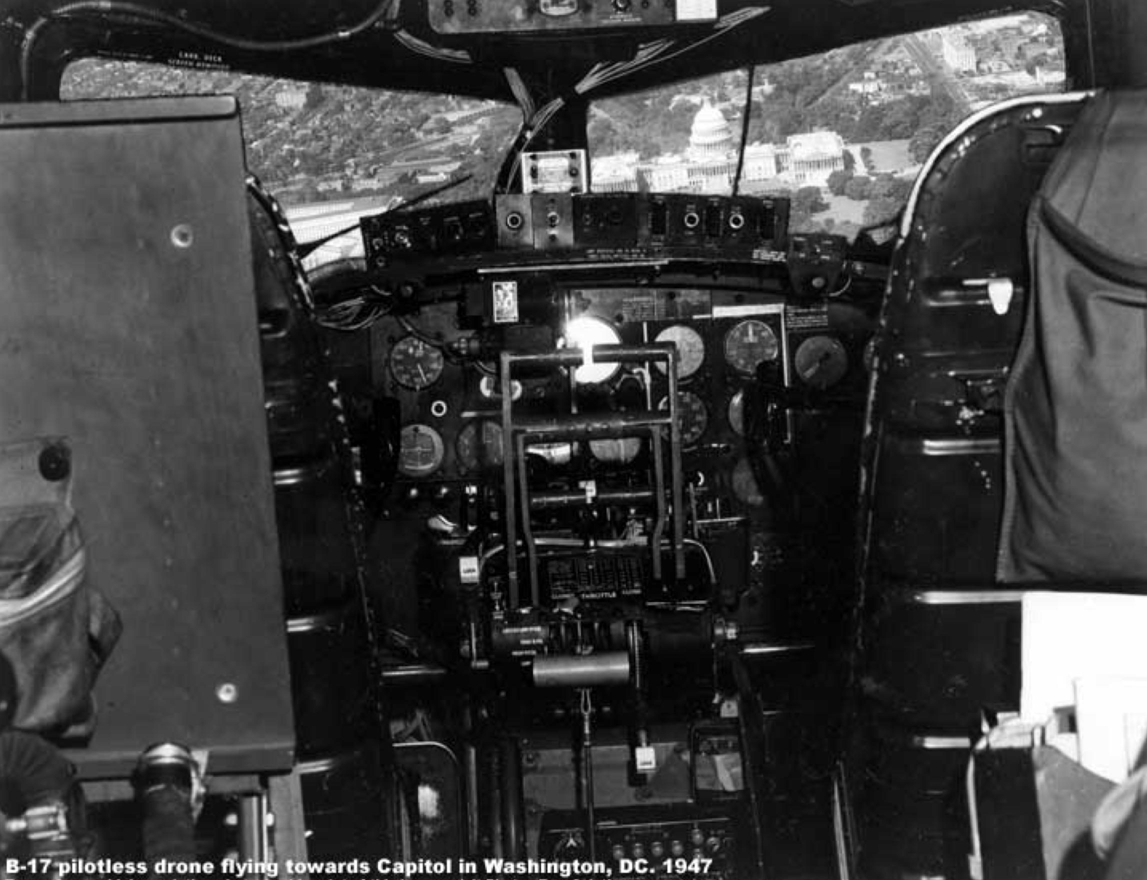 B-17 Drone WWII